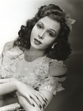 Ann Miller wearing a Blouse in a Classic Portrait Photo by  Movie Star News