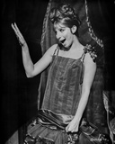 Barbra Streisand Waving Her Hand In Black Dress Photo by  Movie Star News