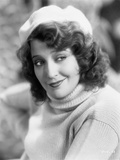 Jeanette MacDonald smiling in Sweater With Cap Photo by  Movie Star News