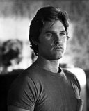Kurt Russell in TShirt Black and White Portrait Photo by  Movie Star News