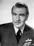 Michael Redgrave in Formal Suit in Black and White Photo by  Movie Star News