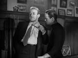 Marlon Brando Arguing an Old Man in Black and White Photo by  Movie Star News