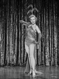 Virginia Mayo Posed with Curtain as Background Photo by  Movie Star News