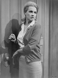 Angie Dickinson Leaning on Door in Office Outfit Photo by  Movie Star News