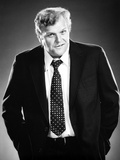 Brian Dennehy Posed in Black Suit With Necktie Photo by  Movie Star News