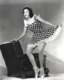 Ann Miller standing in Skirt Classic Portrait Photo by  Movie Star News