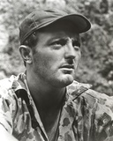 Robert Mitchum in Military Camouflage Outfit Photo by  Movie Star News