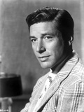Efrem Zimbalist in Stripe Suit With Signature Photo by  Movie Star News