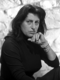 Anna Magnani wearing a Black Tunic with Bracelets Photo by  Movie Star News