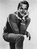 Paul Newman Posed in Sweater With White Background Photo by  Movie Star News