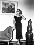 Dorothy Malone on Off Shoulder dress Portrait Photo by  Movie Star News