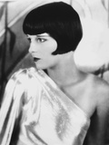 Louise Brooks Looking Away in Glossy Dress Portrait Photo by  Movie Star News