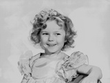 Shirley Temple wearing a Detailed Cap-Sleeve Dress Photo by  Movie Star News