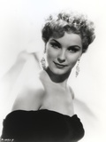 Debra Paget Portrait wearing Dangling Earrings Photo by  Movie Star News