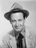William Holden Posed in Classic Coat with Hat Photo by  Movie Star News
