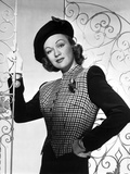 Eve Arden on Printed Long Sleeve Top Portrait Photo by  Movie Star News