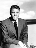 Burt Lancaster in Suit and Tie with Legs Crossing Photo by  Movie Star News