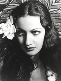Dorothy Lamour Portrait in Classic with Flower Photo by  Movie Star News