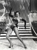Jane Russell Posed in Lingerie Black and White Photo by  Movie Star News