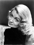 Constance Bennett Slight Bended Head Portrait Photo by  Movie Star News