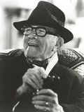 George Burns in Tuxedo with Hat Classic Portrait Photo by  Movie Star News
