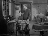 Al Jolson Talking with a Maid Inside the Room Photo by  Movie Star News