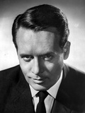 Patrick McGoohan in Black With Black Background Photo by  Movie Star News