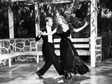 Fred Astaire and Ginger Rogers Dancing in Gazebo Photo by  Movie Star News