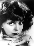 Clara Bow Close Up Portrait with Dark lipstick Photo by  Movie Star News