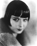 Louise Brooks smiling in Fur Coat Classic Portrait Photo by  Movie Star News