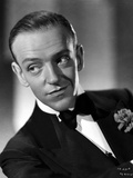 Fred Astaire smiling in Suit and Black Bow Tie Photo by E Bachrach
