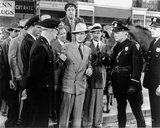 Abbott & Costello Group Picture with Policemen Photo by  Movie Star News