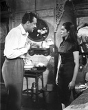 World Of Suzie Wong Couple Talking in Movie Scene Photo by  Movie Star News