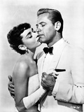 Audrey Hepburn and William Holden Sabrian Kissing Photo by  Movie Star News