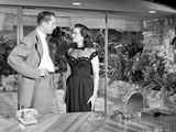 Las Vegas Story in Black and White Couple Scene Photo by  Movie Star News