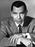 Jack Webb Looking Serious With Two Hands Cross Photo by  Movie Star News