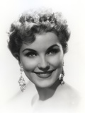Debra Paget Black and White Close Up Portrait Photo by  Movie Star News