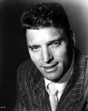 Burt Lancaster wearing a Printed Suit with Necktie Photo by  Movie Star News