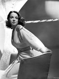 Kathryn Grayson on a Long Sleeve sitting on a Couch Photo by  Movie Star News