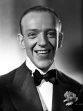 Fred Astaire smiling in Classic Black and White Portrait Photo by E Bachrach