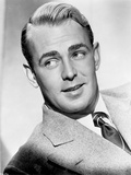 Alan Ladd smiling and Looking Away at the Camera Photo by  Movie Star News