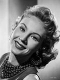 Virginia Mayo smiling with Jewelry Around Neck Photo by  Movie Star News