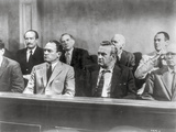 Twelve Angry Men Movie Scene at the Court Room Photo by  Movie Star News