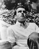 Montgomery Clift Portrait wearing White Sleeves Photo by  Movie Star News