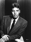 Burt Lancaster in Black Suit with Hands are Crossing Photo by  Movie Star News