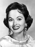 Ann Blyth wearing a Big and Long Earrings Portrait Photo by  Movie Star News