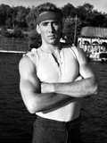Nicolas Cage in Tank top Portrait With Headband Photo by  Movie Star News