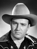 Gene Autry in Cowboy Oufit with a Straight Face Photo by  Movie Star News