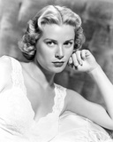 Grace Kelly wearing Black Leather Jacket Portrait Photo by  Movie Star News