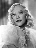 Marion Davies in White Blouse Close Up Portrait Photo by  Movie Star News